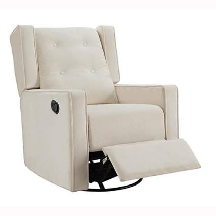 microfiber swivel rocker and recliner