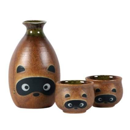 tanuki sake set