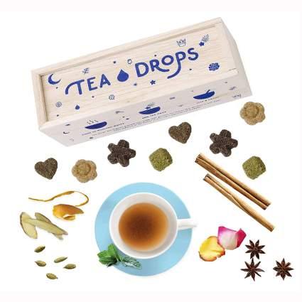 organic pressed tea sachets