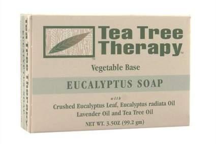 tea tree and eucalyptus soap