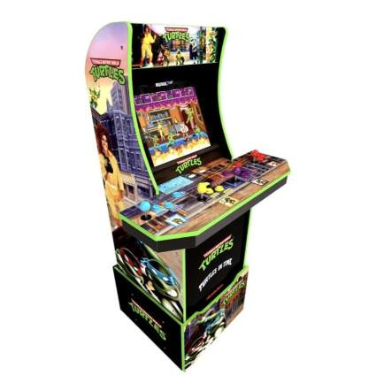 Teenage Mutant Ninja Turtles Arcade Machine with Riser
