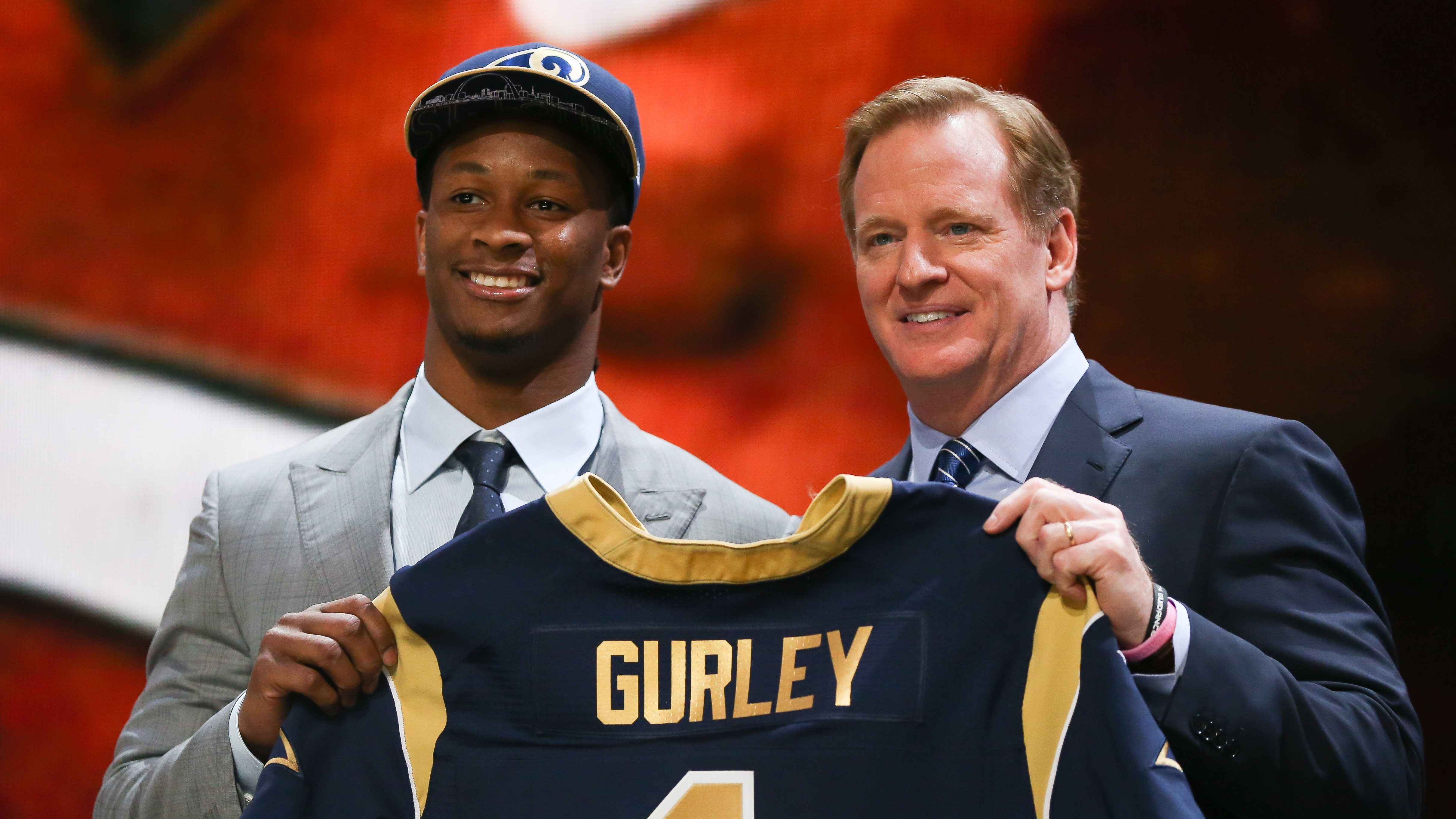 Todd Gurley S College Stats Dominance Overshadowed By Injuries Heavy Com