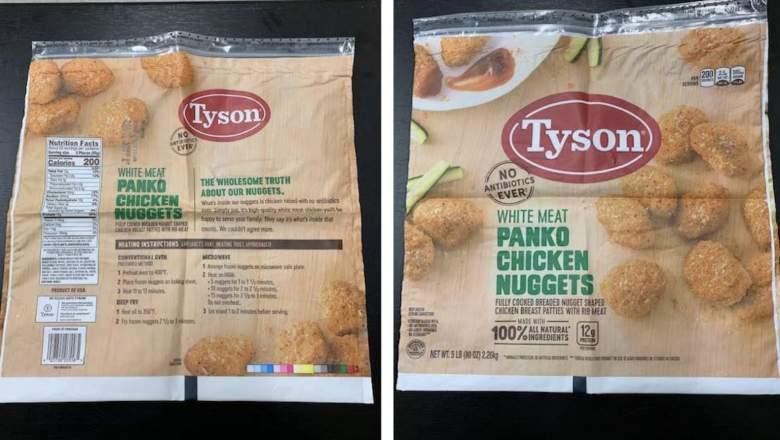 tyson chicken nuggets recall 2019