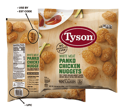 tyson chicken recall