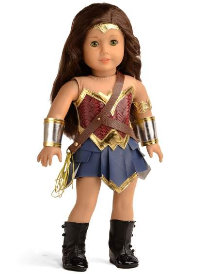 wonder woman doll clothes