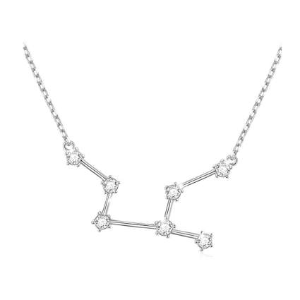 sterling silver zodiac necklace