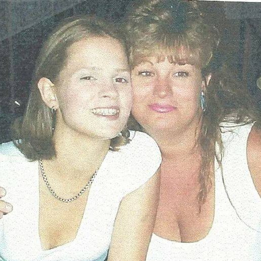 April Pease and her mother