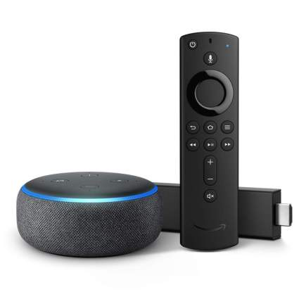 Fire TV Stick 4K bundle with all-new Echo Dot
