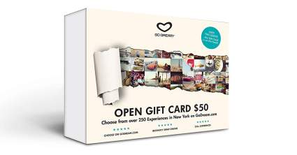 GO DREAM Open Experience Gift card
