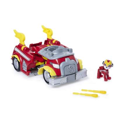 Mighty Pups Super Paws Marshall's Powered Up Fire Truck Transforming Vehicle