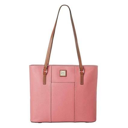 Pink dooney and burke handbag