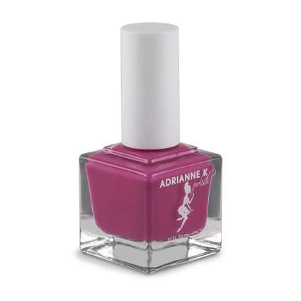 Pink square nail polish bottle