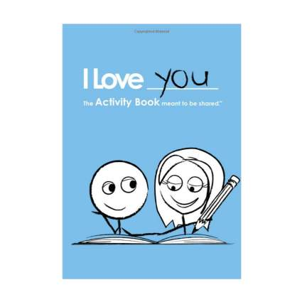 i love you activity book romantic gifts for him