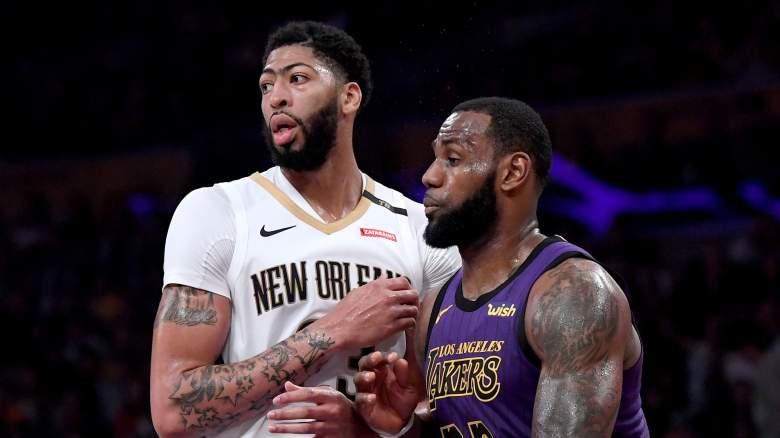 Lakers Anthony Davis LeBron James trade