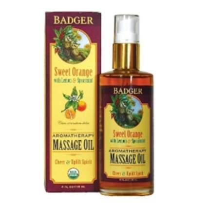 badger massage oil