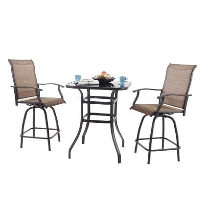 bar height bistro set