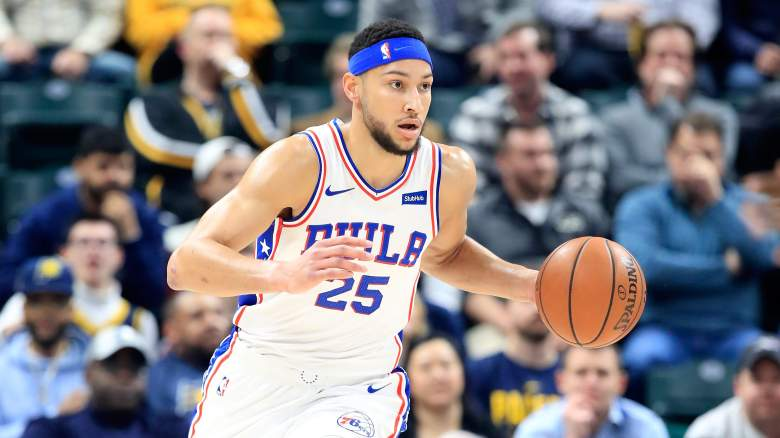 Philadelphia 76ers Roster Starting Lineup Ben Simmons Contract