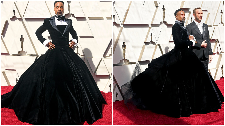 billy porter tux gown