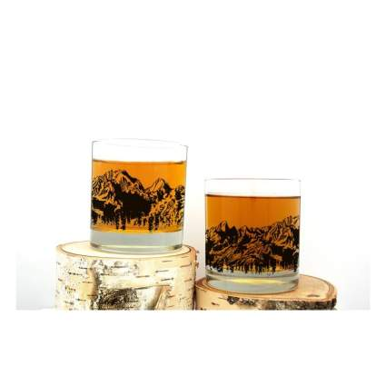 Black Lantern whiskey glasses romantic gifts for him