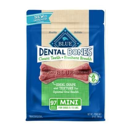 Blue Buffalo dental bones dog dental chews