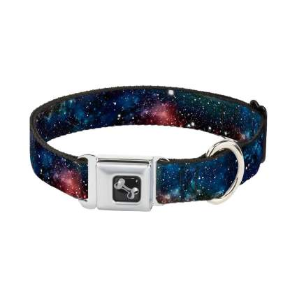 Buckle-Down space dust cool dog collar