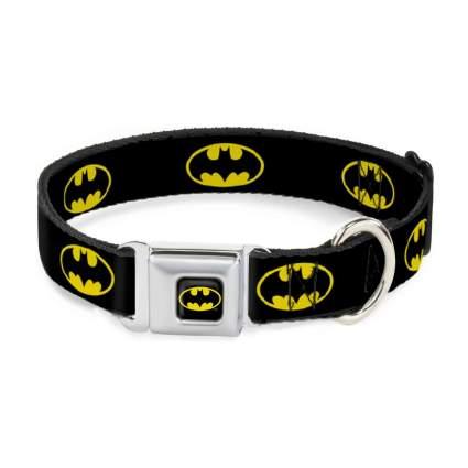 Buckle-down batman cool dog collar
