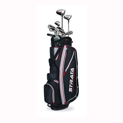 men's 12 piece golf club set with bag