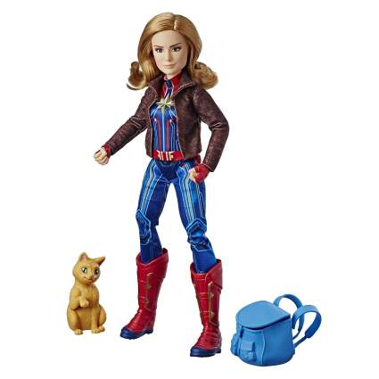 captain marvel super hero dolls