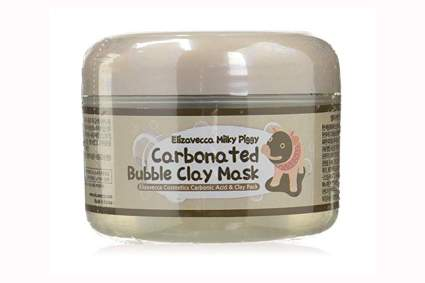 carbonic acid and clay mask