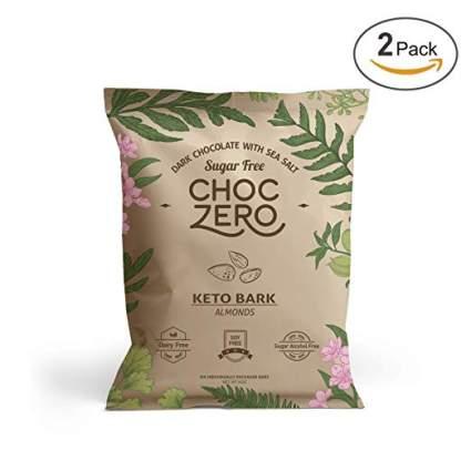 choc zero keto bark