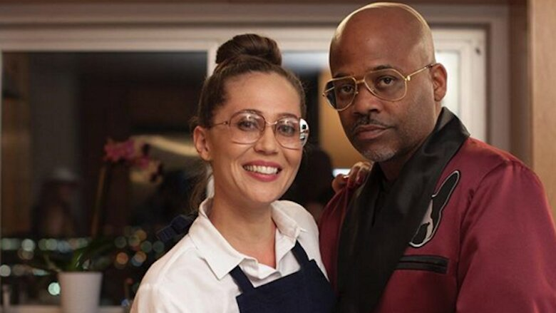 Damon Dash with enigmatic, Fiancée Raquel Horn
