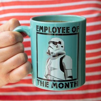 stormtrooper employee of the month mug