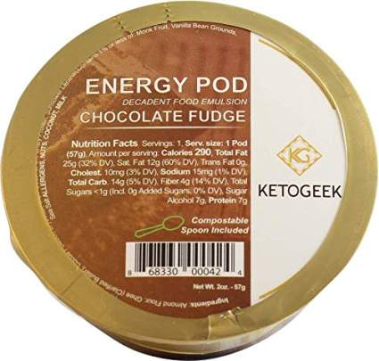 energy pod keto geek chocolate fudge energy pods