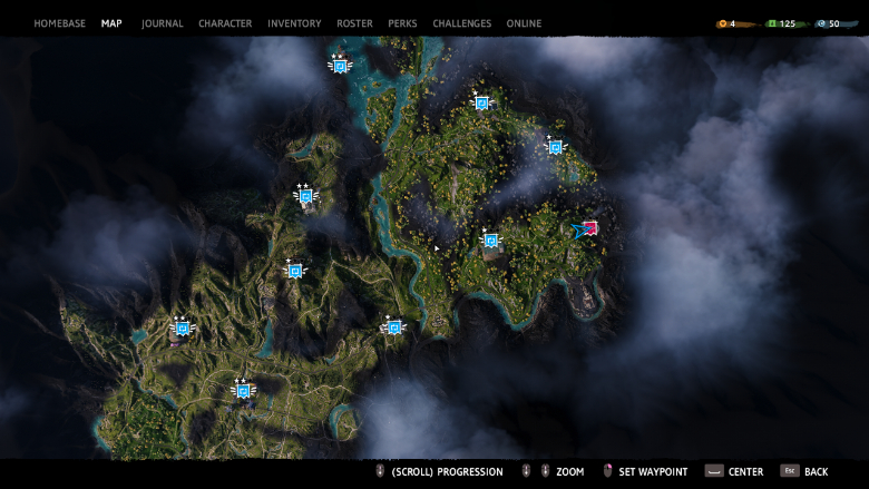 far cry new dawn map locations