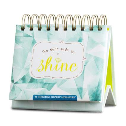 Flip Calendar - You Were Made to Shine