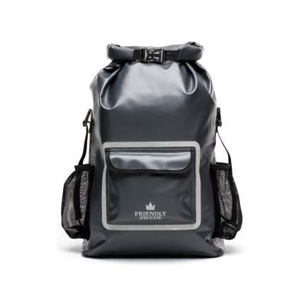 friendly swede dry bag backpack