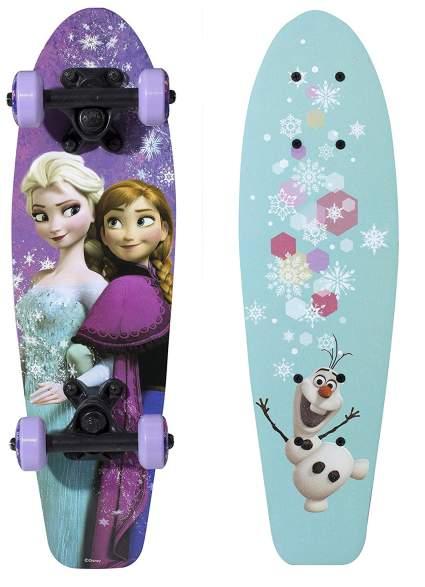 frozen skateboard