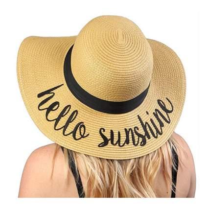 Floppy summery hat