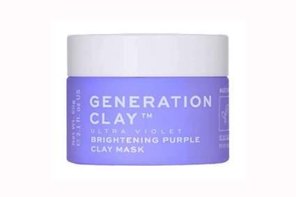 ultraviolet purple brightening clay mask