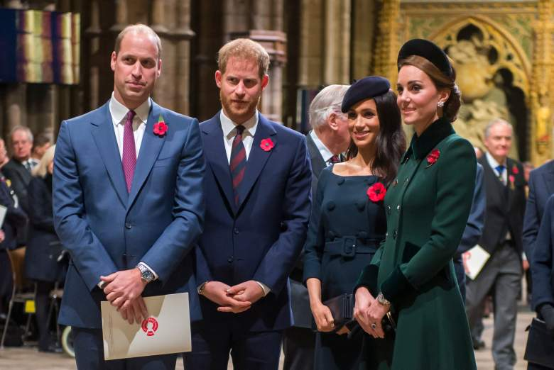Prince Harry, Prince William, Meghan Markle, Kate Middleton