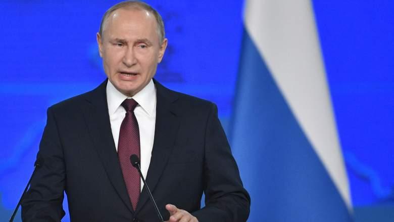 Vladimir Putin state of the nation
