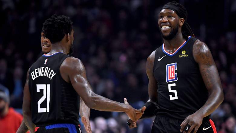 Clippers forward Montrezl Harrell