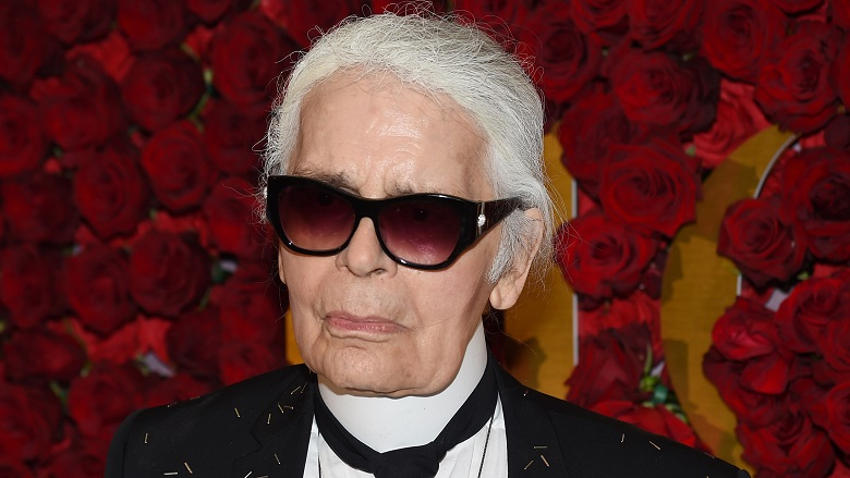 Karl Lagerfeld Married