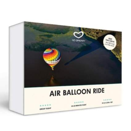 Gift Card for an Air Balloon Ride In Upstate New York