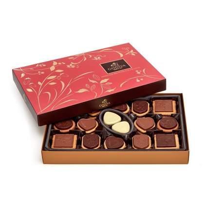 Godiva chocolates in a box
