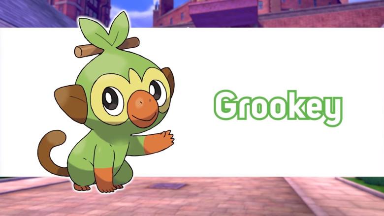 Grookey Pokemon Sword and Shield