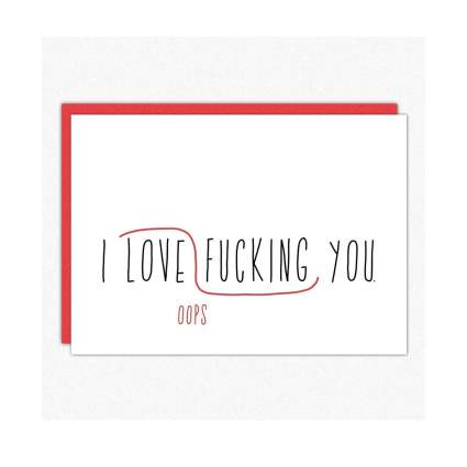 In a Nutshell Studio card romantic gifts for him