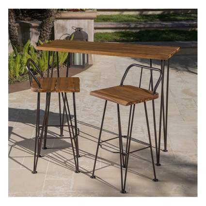 industrial design bistro set