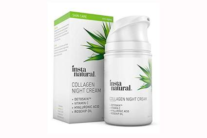 organic collagen night cream