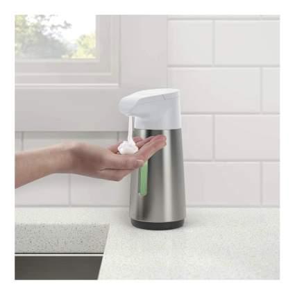 touchless foaming soap dispenser